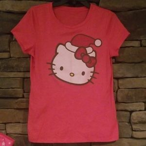 Hello Kitty Christmas Tshirt